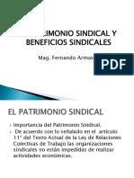 Decima Primera Clase Patrimonio Sindical y Beneficios