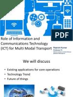 6 Role of IT in Multimodal Transport