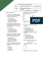 prueba sistema de ecuaciones 2x2