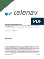 TeleNav Version 5.0 User's Guide - Sprint (Sanyo, Katana, Fusic)
