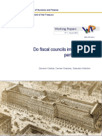 Do Fiscal Councils Impact Fiscal Performance