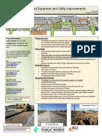 Ellis Road expansion and utility improvements