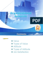 Value and Attitude