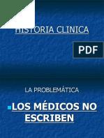 Historia Clinica Charla
