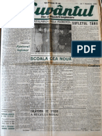 Cuvantul anul XVII (serie noua) nr. 25, 7 noembrie 1940