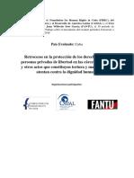 2017 Retrocesos en La Proteccion de Los Reos en Cuba - CADAL FANTU FHRC (Reparado)