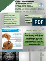 Salud y Enfermedad Mental en La Conducta Delictiva