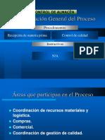 Presentación Difusión Recepción Materia Prima