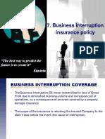 7. Business Interruption Insurance Policy.pdf
