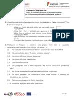 Ficha de Redes