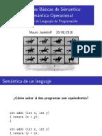Semantica Operacional