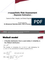 PRA_Weibull Distribution and Bayesian Estimation