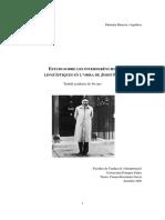 Barrera i Aguilera, Mariona - Estudi Sobre Les Interferències Lingüísitques a Pla