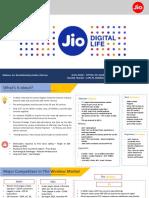 Reliance JIO Case Presentation