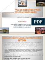 Normativas de Diseños Para Centros de Convenciones