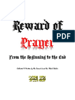 Reward of Prayer from the beginning to the End