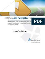 TeleNav Version 5.1 User's Guide - T-Mobile UK (BlackBerry)