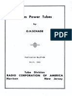 Beam Power Tubes 1938