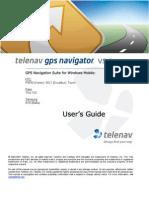 TeleNav Version 5.2 User's Guide - Rogers Wireless (Windows Mobile)