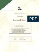 Tarea 10 Monografia Ministerio Profético 2do Semest 2015