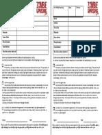 Disclaimer Form