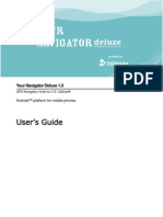 Your Navigator Deluxe v1.0 User's Guide - US Cellular (Android)