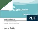 Your Navigator Deluxe v1.0 User's Guide - US Cellular (BlackBerry Devices)