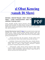Penjual Obat Kencing Nanah Di Slawi