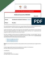 Boletín de Servicio No 069 -2018