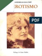 El erotismo [Lou Andreas-Salomé].pdf