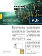 Impedance Matching Fundamentals
