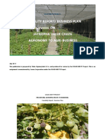 Jatropha Value Chain Feasibility Report Business Plan Final