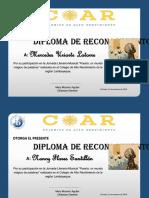 Diploma Estacion Brujos