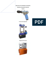 Aplicaciones de La Hidráulica y Neumática1