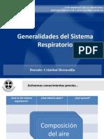 Generalidades Sistema Respiratorio (