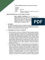 Interposición de Demanda de Hábeas Corpus Por Exceso de Carcelería