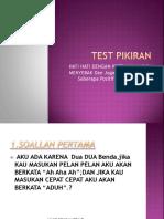 Test Pikiran
