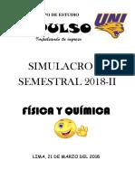 Simulacro Fisica Quimica 2018 II o1