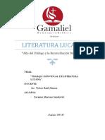 Literatura Lucana - Carmen