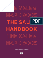 The Sales Handbook by Intercom