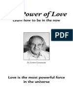 Lester Levenson The Power of love How to be in the Now