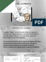 Equipo 8 Historia de La Algebra