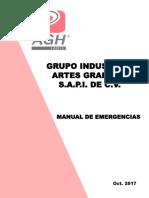 Present. Planes de Emergencia 2017