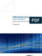 CMA Global Sovereign Credit Risk Report Q3 2010