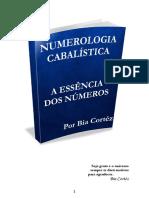 Numerologia Cabalistica a Essencia Dos Numeros