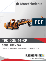 Manual de Mantenimiento Troidon 44 Xp_jmc-500-1