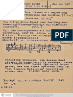 Antonio Lotti - Concerto per Oboe d'amore