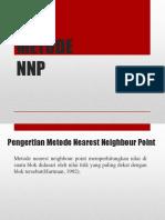 Metode NNP