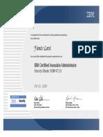 IBM Certified Associate Administrator - Security QRadar SIEM V7.2.8 (1).pdf