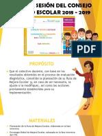 Presentacion1eraSesCTE2018-19PreescolarMEEP